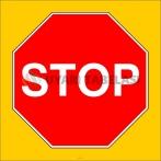 PF1193 - Stop Trafik İşareti/Levhası/Etiketi
