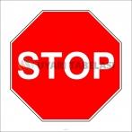 PF1205 - Stop Trafik İşareti/Levhası/Etiketi