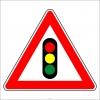 PF1257 - Işıklı İşaret Cihazı Var Trafik Levhası