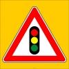 PF1258 - Işıklı İşaret Cihazı Var Trafik Levhası