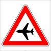 PF1260 - Havalimanı (Alçak Uçuş) Trafik Levhası