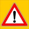 PF1266 - Dikkat İşaretli Trafik Levhası