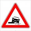 PF1290 - Düşük Banket Trafik Levhası