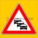 PF1296 - Trafik Sıkışıklığı Trafik Levhası