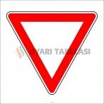 PF1299 - Yol Ver Trafik Levhası