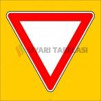 PF1300 - Yol Ver Trafik Levhası
