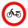 PF1312 - Motorlu Bisiklet Giremez Trafik Levhası