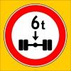 PF1346 - Dingil Başına X Tondan (Bize Bildirin) Fazla Yük Düşen Taşıt Giremez Trafik Levhası