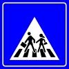 PF1447 - Okul Geçidi Trafik Levhası