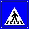 PF1446 - Yaya Geçidi Trafik Levhası