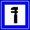 PF1464 - Tamirhane Trafik Levhası