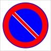 PF1499 - Park Etmek Yasaktır Trafik Levhası