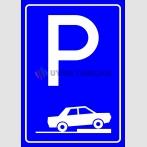 PF1506 - Park Yeri Trafik Levhası