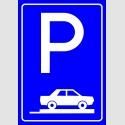 PF1507 - Park Yeri Trafik Levhası