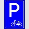 PF1510 - Bisiklet Park Yeri Levhası