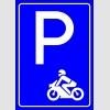 PF1511 - Motosiklet Park Yeri Levhası