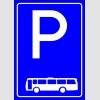 PF1514 - Otobüs Park Yeri Levhası