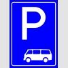 PF1515 - Minibüs Park Yeri Levhası