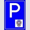 PF1526 - Polis Araçları Park Yeri Levhası