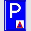 PF1527 - Jandarma Araçları Park Yeri Levhası