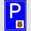 PF1528 - Jandarma Araçları Park Yeri Levhası