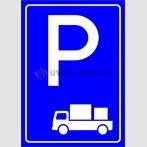 PF1530 - Yükleme Boşaltma Araçları Park Yeri Levhası