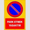 PF1574 - Park Etmek Yasaktır