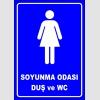 PF1655 - Kadın Soyunma Odası, Duş ve WC