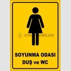 PF1657 - Kadın Soyunma Odası, Duş ve WC