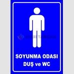 PF1658 - Erkek Soyunma Odası, Duş ve WC