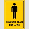 PF1660 - Erkek Soyunma Odası, Duş ve WC