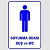 PF1693 - Erkek Soyunma Odası, Duş ve WC