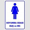 PF1694 - Kadın Soyunma Odası, Duş ve WC