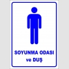 PF1695 - Erkek Soyunma Odası ve Duş