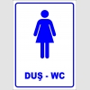 PF1698 - Kadın Duş ve WC