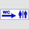 PF1711 - Kadın Erkek WC Sağda