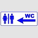 PF1712 - Kadın Erkek WC Solda