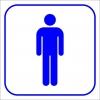 PF1716 - Erkek WC (Tuvalet)