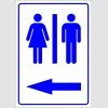 PF1722 - Kadın Erkek Tuvaletler (WC) solda