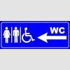 PF1635 - Kadın Erkek Engelli WC Solda