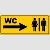 PF1615 - Kadın Erkek WC Sağda