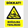 PF1749 - Dikkat! Boğulma Tehlikesi