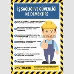 PF1797 - İş Sağlığı ve Güvenliği Ne Demektir?