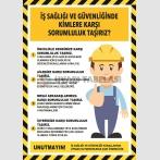 PF1798 - İş Sağlığı ve Güvenliğinde Kimlere Karşı Sorumluluk Taşırız?