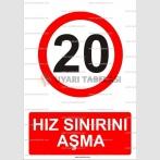 AYT 2007 - Hız sınırını aşma, 20