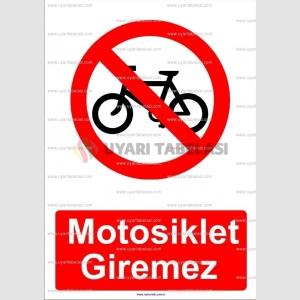 AYT2064 - Motosiklet giremez