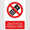 GI2089 -Tesis içinde telsiz ve cep telefonu kullanmak yasaktır