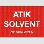 A 1190 - Atık solvent, 200113