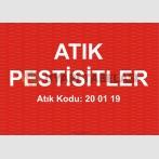 A 1194 - Atık pestisitler, 20 01 19