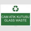 A1169 - Cam atık kutusu, glass waste